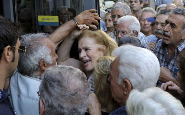Greece crisis eurozone pensioners