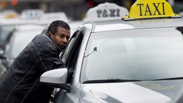 Toronto taxi drivers are seeking an injunction against Uber, which they say is undercutting their business.