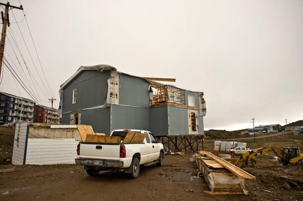 Iqaluit mosque construction July 8 2015