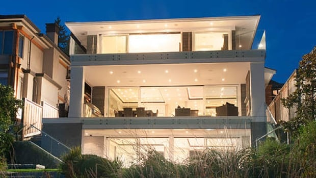 A luxury home in West Vancouver. Re/Max says foreign buyers are driving the luxury market in Vancouver and Toronto.