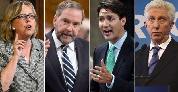 Federal leaders debate 2015
