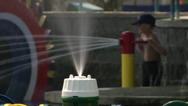 Parksville spray park
