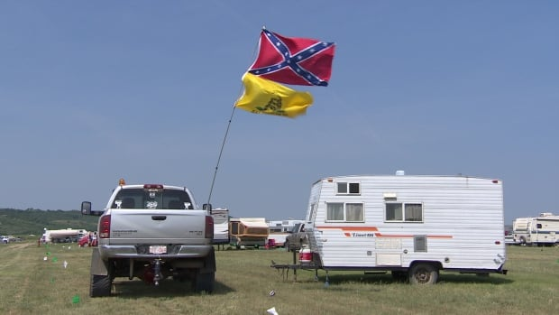 Confederate flag Craven Country Jamboree