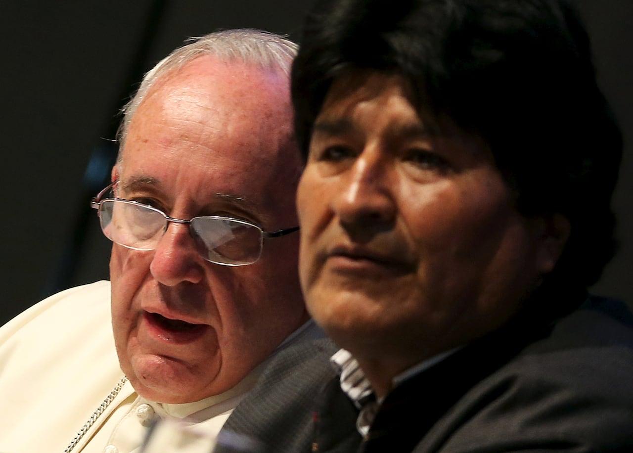 Pope Francis asks pardon for church's 'crimes' against