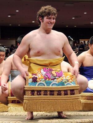 Japan Sumo Canadian Grappler