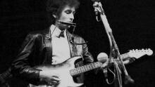 Bob Dylan goes electric at the Newport Folk Festival