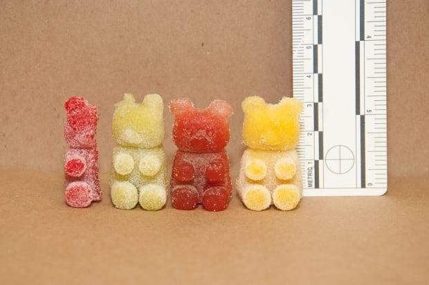THC gummy bears Laval Quebec