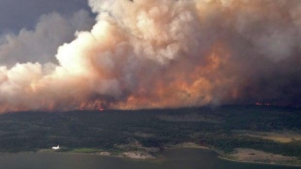 Puntzi Lake wildfire