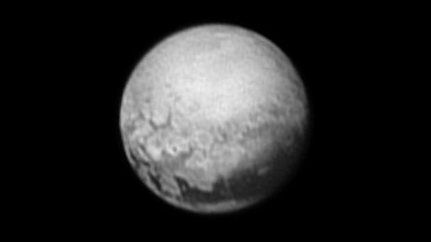 This mysterious dark shape on Pluto has been nicknamed 'The Whale.'