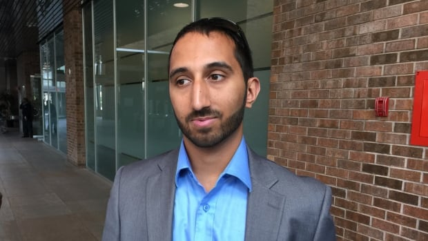 Deepan Budlakoti appeared today at Immigration and Refugee Board of Canada hearing in Montreal.