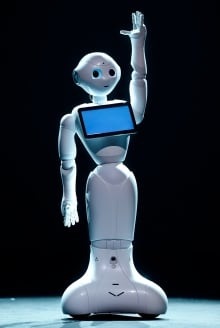 Japan SoftBank Robot Pepper
