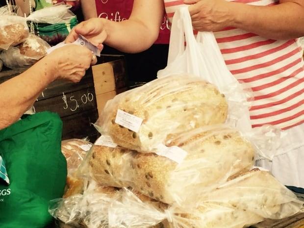 Bread at Farmer's Market