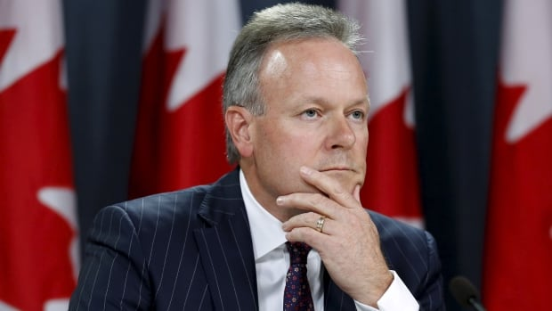 Stephen Poloz and the Bank of Canada decided to keep the central bank's core interest rate steady at 0.5 per cent on Wednesday.