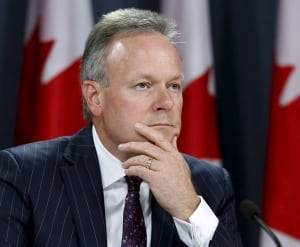 Bank of Canada Stephen Poloz