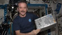 Miniaturized flow cytometer on ISS