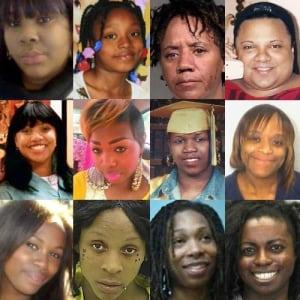 Black Women Lives Matter Collage