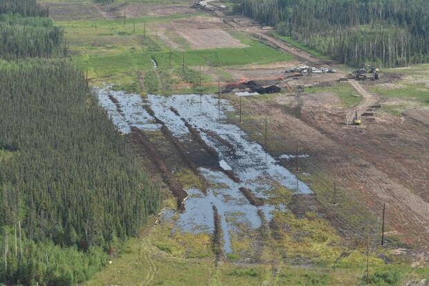 Nexen Alberta pipeline break