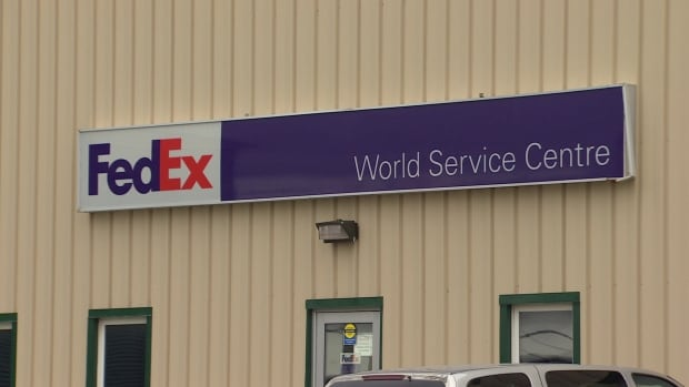 FedEx office in St. John's