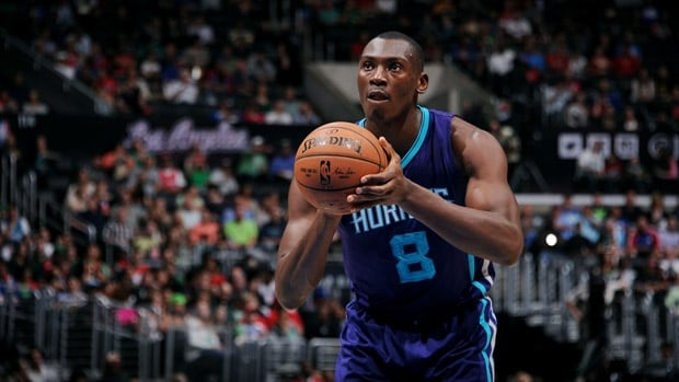 Bismack Biyombo averaged 4.8 points, 6.4 rebounds and 1.5 blocks in 64 games last season with Charlotte.