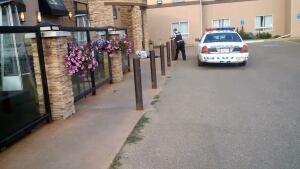 Dawson Creek Shooting Victim and Police