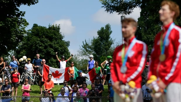 Organizers say the Pan Am Games, which honoured Canada's Evan Dunfee and Inaki Gomez Sunday, have sold more than 300,000 tickets since the opening ceremonies on July 10.