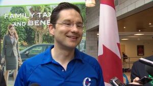 Employment Minister Pierre Poilievre