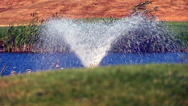Under Stage 3 water restrictions, all lawn sprinkling is banned.