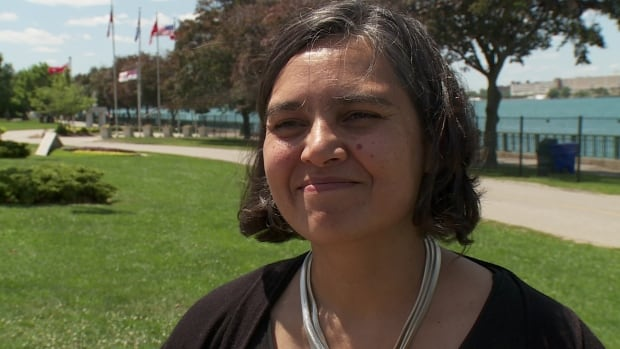 Mita Williams wants the city of Windsor to have a new flag.