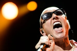 Sinead O'Connor at Switzerland's Montreux Festival