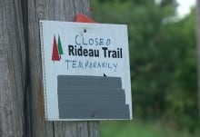 Rideau Trail closed temporarily wild parsnip Ottawa July 22 2015