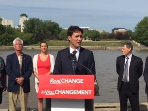 Justin Trudeau in Winnipeg - July 23, 2015