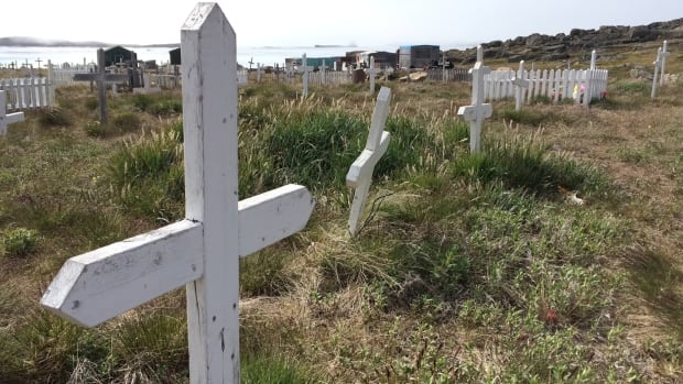 A view of the old cemetery in Iqaluit. A new CMAJ editorial is bringing attention to the fact that there are no national standards governing how coroners and medical examiners classify deaths in Canada. 'Researchers have a right to know that their data are not comparable between jurisdictions,' says co-author and Nova Scotia's Chief Medical Examiner Dr. Matthew Bowes.
