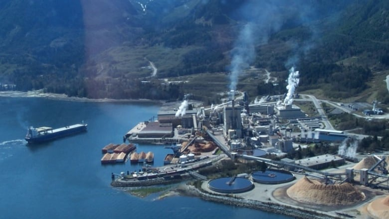 B C S Howe Sound Mill To Close Paper Operations Cbc News