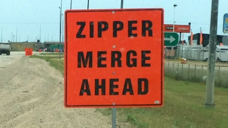 Miracle on Ring Road: The rare elation of a Regina zipper merge done right
