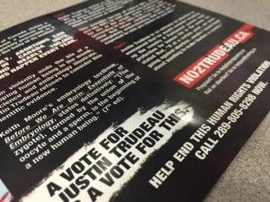 no2trudeau abortion campaign