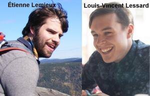 Etienne Lemieux Louis-Vincent Lessard