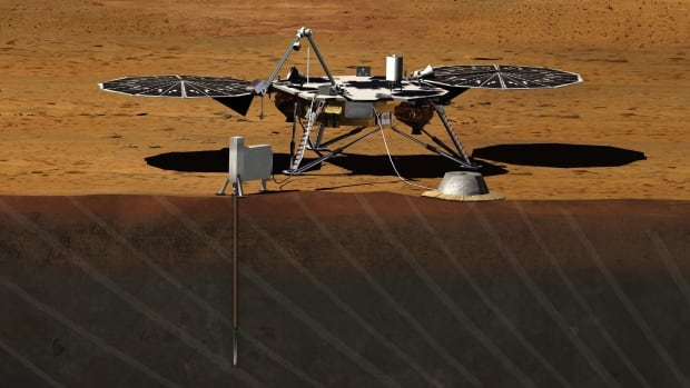 The InSight spacecraft was supposed to take off this month and land on the red planet in September.