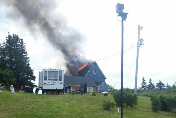 House fire in Renews