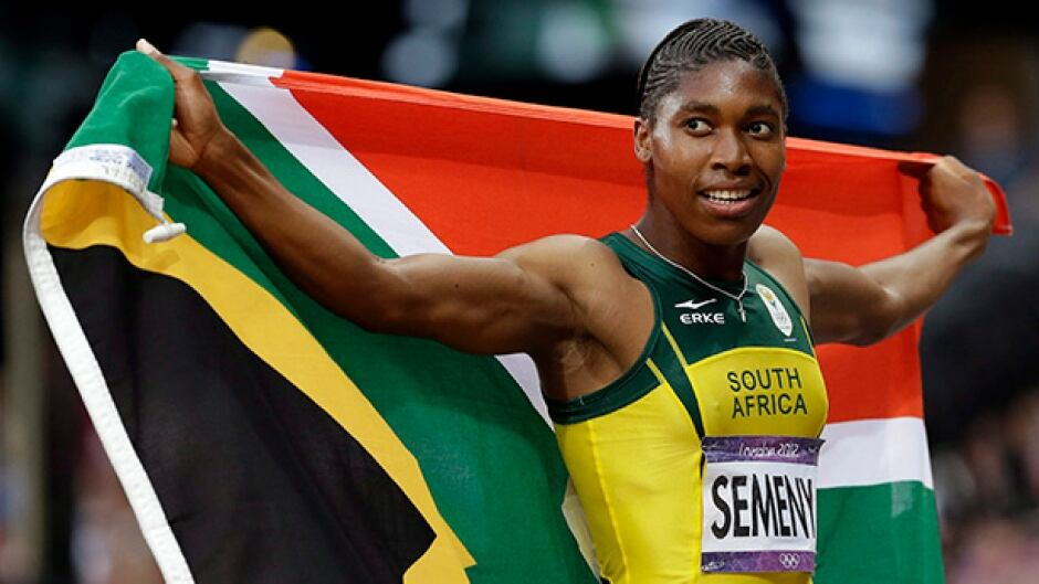 800-metre runner Caster Semenya will race in the women's 800 metre in Rio this week.