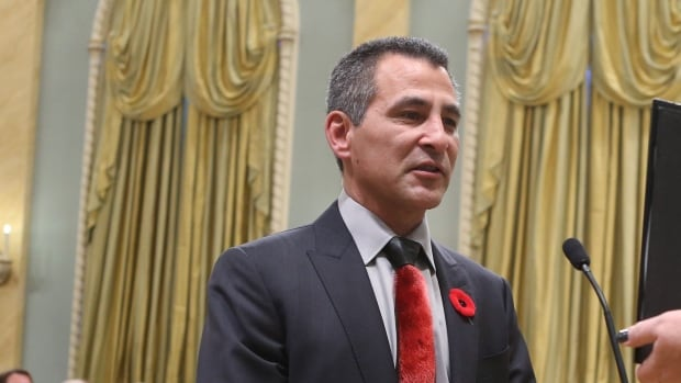 Hunter Tootoo poses at the announcement of his candidacy in Iqaluit. Tootoo served as an MLA in Nunavut from 1999 to 2013.
