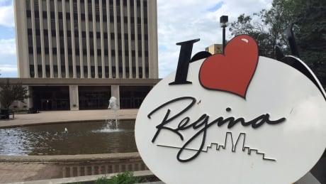 City hall i love regina logo
