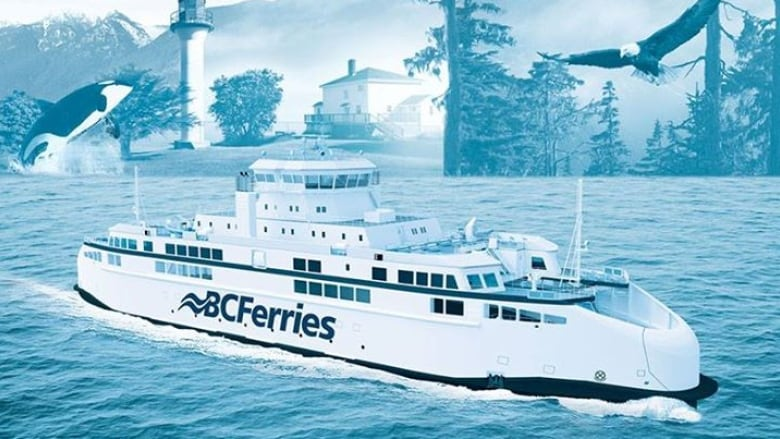 B C  Ferries names new vessels leaving name calling in its wake