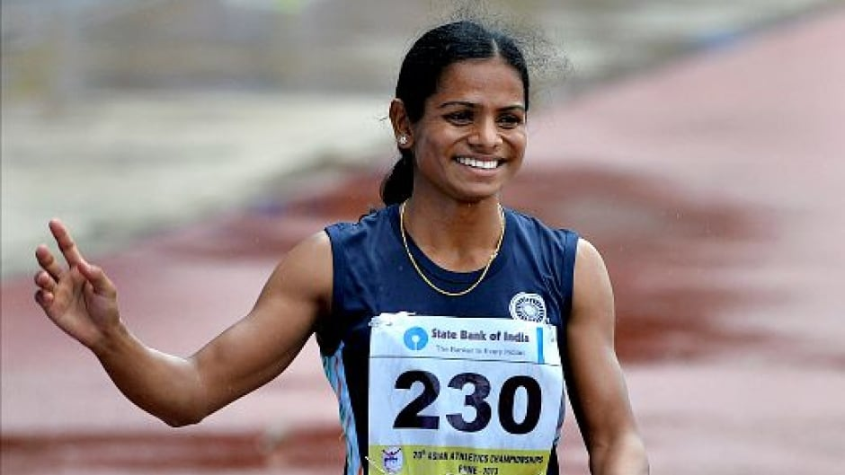 Sprinter Dutee Chand has naturally high levels of testosterone and when she failed a hormone test, she was banned from competing in sport. But this week Dutee Chand scored a major victory and has been cleared to race again.