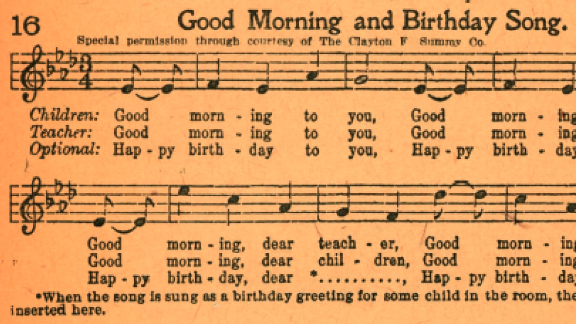 Piano happy birthday piano sheet music : Happy Birthday song should be in public domain, judge rules ...