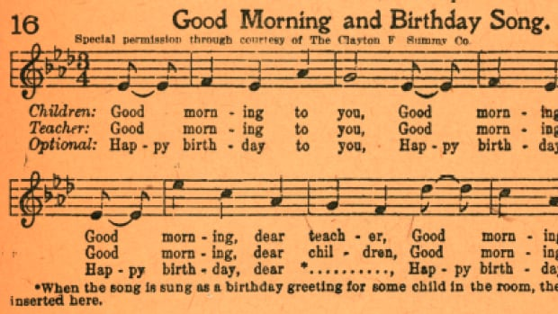 A copy of a 1927 book unearthed by filmmakers disputing the origins to the Happy Birthday song had been called a 'smoking gun' in the case.