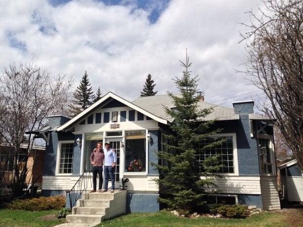 Studio North architects Mark Erickson and Matthew Kennedy; Calgary