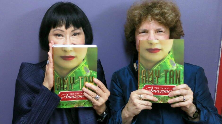 Amy Tan with Eleanor Wachtel