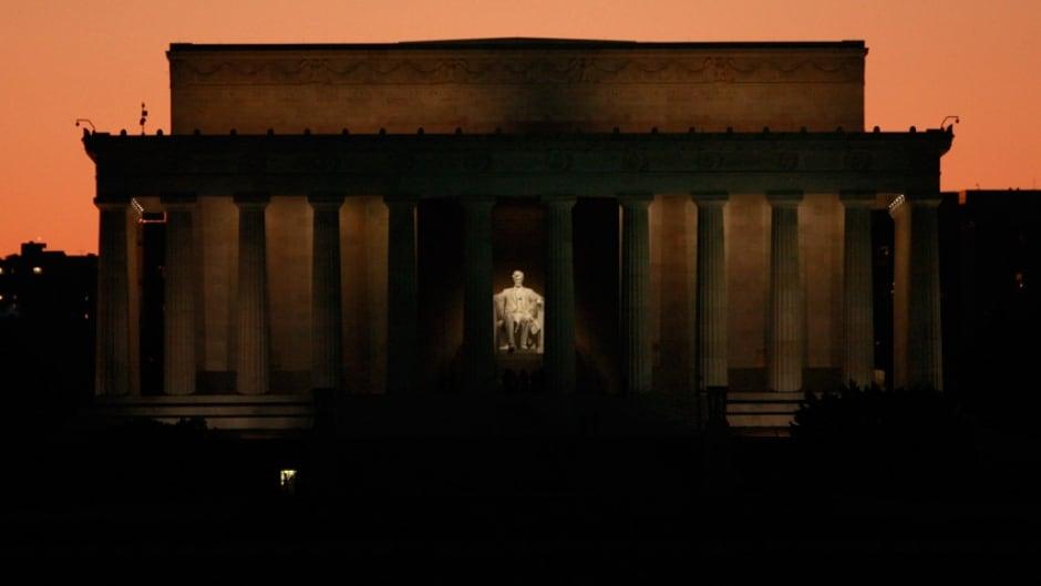 The Lincoln Memorial in Washington, DC.