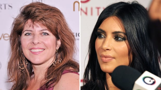 Naomi Wolf, left, tells women to ditch 'vocal fry,' a speech pattern that Kim Kardashian has been known to use. But some people say that the real problem is telling women how they should speak.