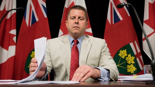 Ontario Ombudsman Andre Marin's application for a third term as the government's watchdog was denied Tuesday.